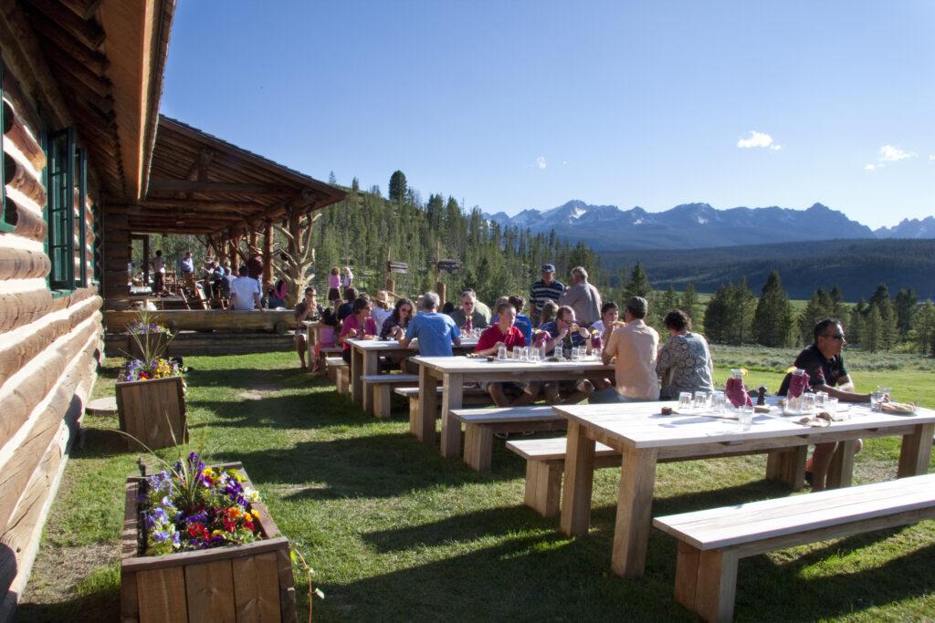 Idaho Rocky Mountain Ranch / BBQ