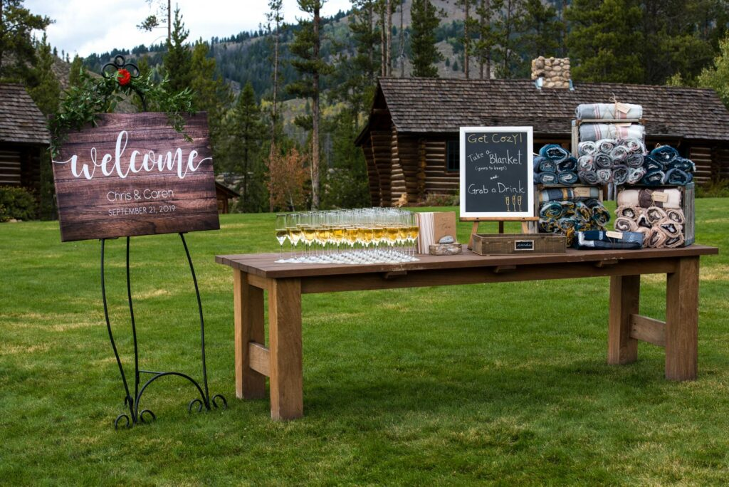 The most romantic idaho wedding venue in the rocky mountains complete with guest cabins and a guest lodge
